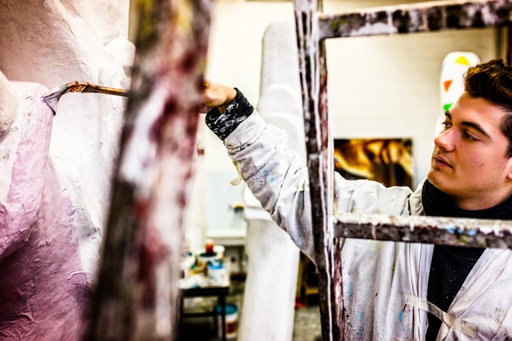 Carnival artist Fano 3 - Marche - Italy