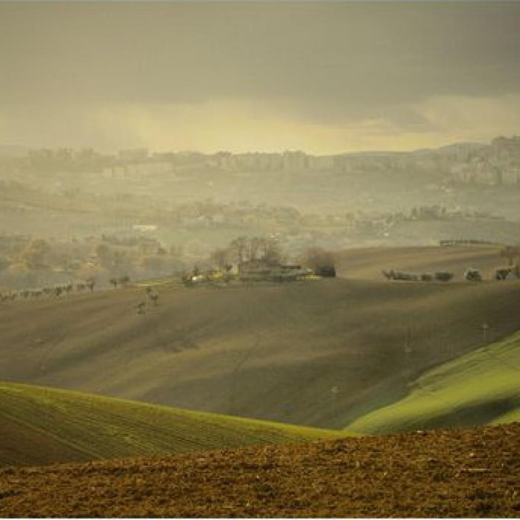 Foggy Hills Macerata - Marche - Italy