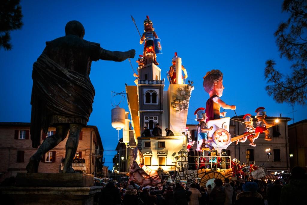 Luminaria Carnival floats parade 2 - Fano - Marche - Italy