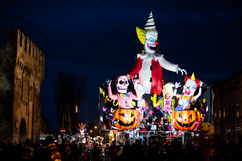Luminaria Carnival floats parade 3 - Fano - Marche - Italy