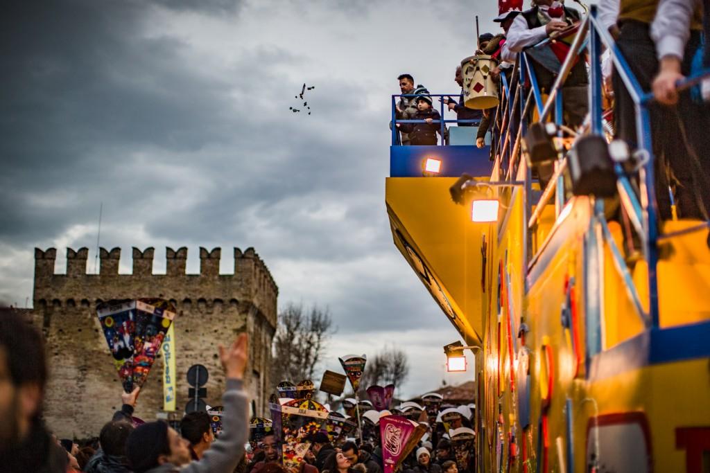 Luminaria Carnival floats parade - Fano - Marche - Italy