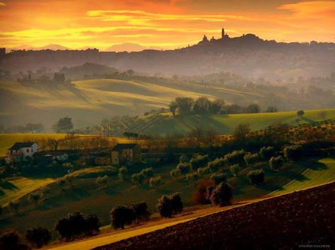 Sunset - Marche - Italy